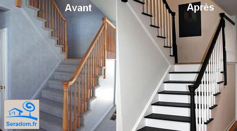 Jardinage et service de bricolage domicile figeac et sa r gion seradom for Peindre son escalier